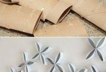 Inovando / Novas ideias para reutilização de materiais