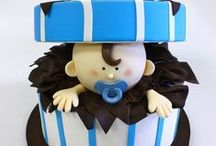 Artistic - Baby Cakes / Christening Cakes, Baptism Cakes, Baby Shower Cakes / by Nelly Oberti