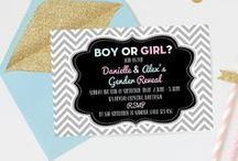 Gender Reveal Party / Gender Reveal Party Ideas and theme   Gender Reveal Party Invitations   Gender Reveal Party Decorations   Gender Reveal Party Games   Gender Reveal Party Food   Gender Reveal Party Cake   For beautiful Gender Reveal Invites please visit: www.printandparty.com.au