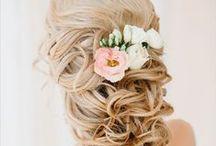 Wedding hair / Olika bröllopsfrisyrer och uppsättningar för inspiration
