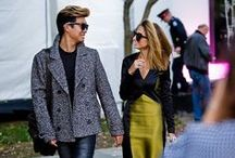 Fashion Couples / The best dressed couples.
