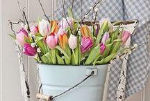 Frühlingserwachen / Der Winterschlaf ist vorbei! Lasst euer Zuhause mit frischen Farben, blumigen Mustern und floralen Dekorationen aufblühen!