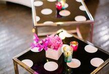 Wir <3 Punkte und Kreise / Ob auf Sesseln, Tischchen, Spiegeln oder Geschirr - Punkte und Kreise sind einfach toll!