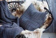 Gemütlich Wohnen im Winter / Kuschelige Materialien, zeitlose Farben und warme Dekorationen - so kommt ihr gemütlich durch den Winter!