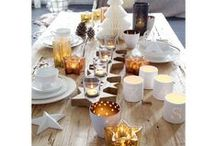 Perfekter Weihnachtstisch / Elegantes Geschirr, edles Besteck und glänzende Accessoires in weihnachtlichen Farben - so dekoriert ihr euren Esstisch außergewöhnlich zum Fest!