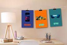 chambre d'ado / idée décoration adolescent, chambre ado, teenager, teenager wall decor, teenager decor, home decor, affiche adolescent, idée cadeaux