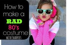 Snowdown: Back to the 80's- Family Costume Inspiration / The best way to get the kids into the mood to celebrate Back To the 80's at Snowdown is to get them all dressed up! Clearly spandex, headbands and neon are the classic 80's looks that kids think of today, but the 80's was so much more than that! Visit Macaroni Kid Durango's Pinterest Page for some super fun ideas and family themes to pull out all the stops this coming Snowdown 2016!