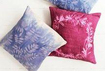 barvení, batika, tisk na textil