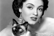 Cats and Celebs / Celebrities with their cats... need we say more?