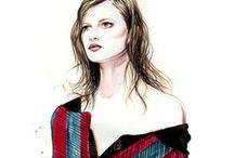 Fashion Illustrations!! <3