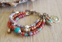 All kinds of bracelets
