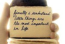 The little ideas......