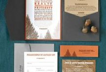 Paper / Ideas for Save the Dates, Invites, Programs, Place Cards and anything else that needs printing!