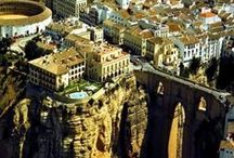 R O N D A / Incredible city of Ronda in Málaga. Architecture. Landscapes. Streets. Art. Winery