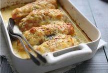 L'endive se fait dorer / Des recettes succulentes à réaliser au four, avec la gamme d'Endives spéciales Four Perle du Nord.