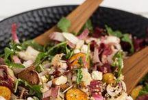 L'endive se raconte en salades / Véritable source d'inspiration, l'endive se décline parfaitement sur toute sorte de salades. Découvrez ou redécouvrez les plus savoureuses grâce aux Endives spéciales Salade et Endives Rouges spéciales Salade de Perle du Nord