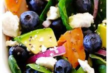 Salads / We love salads because of all the delicious and fresh ingredients that are packed in each one! Italian-style cheeses are an easy addition to either grate, sprinkle, or shave on top. Give one of these a try and let us know what you think!