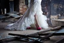 Valkoinen Kreivitär-Couture / Some of our own models/Oman ompelimomme mallistoista