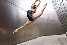 Dance. / My goals on flexibly.