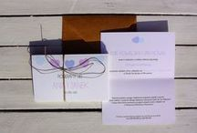 Wedding Invitations / Rustic Wedding Invitations.