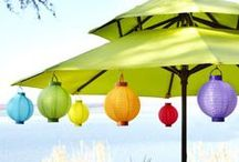 Whether Rain or Shine / Umbrellas for garden, patios, Pools, backyards ....