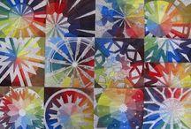 #Theory of Arts / #Kunsttheorie / #Colours, #Shading, Elements of #Design, #Artists #Farbenlehre, #Design, #Werbung, #Künstler