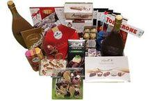 Cadeauartikelen met chocola / Heerlijke cadeaumanden met chocolade en meer