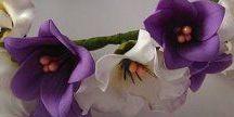 цветы из фоамирана. / резинки для волос своими руками. орхидеи