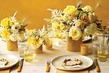 Yellow / A collection of inspiring arrangements in a yellow color scheme