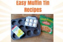 Muffin Tin Recipes / Practice portion control with these easy muffin tin and muffin pan recipes!