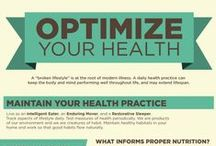 HEALTH & WELLNESS INFOGRAPHICS