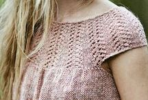 Knit Sweaters and Dresses