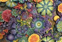 Polymer clay / Jewelry / by Linda Hudson