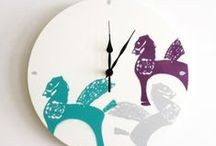 CLOCKS / sprayed or spray-inspired clocks based on your pictures and memories.
