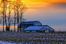 Paisajes lindos / Paisajes de la granja que nos inspiran