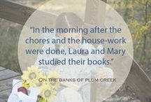 Little House Books & Related Books / See all of the writings by Laura Ingalls Wilder, and spin-off and related books inspired by Laura. Check out these reviews and discover new authors inspired by Little House on the Prairie®.