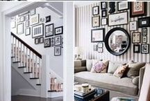 Photo Wall Gallery / Creating a photo wall gallery in your home.