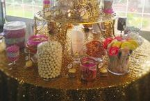 Luxurious Sequin Linens / Custom made sequin linens from Linens by the Sea