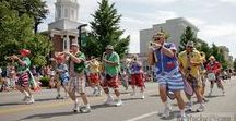 The Great American Brass Band Festival / All about the Brass Band Fest, held every June in charming Danville, Kentucky.