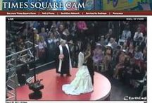 Royal Wedding LIVE TLC / TLC called me and asked if I could perform 3 weddings, live from Times Square, during the breaks from the broadcast from England's Royal Wedding.  Of course I said YES!