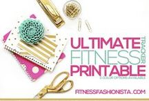 DIY Journals for Food, Weight Loss, & Fitness / Food and Fitness Journals, trackers, and smash books are great motivation for weight loss.  Check out these DIY printables!  TheWeighWeWere.com