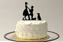 Cake Toppers! / Be unique!  Here's another great way to make your wedding reflect YOU!