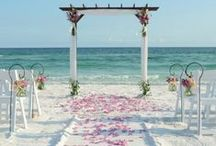 """Beach Weddings / New Jersey in known world wide for their amazing beaches.  I perform so many wonderful """"Jersey Shore"""" weddings  With so many wonderful ideas I thought I'd scan the globe and find some for you."""