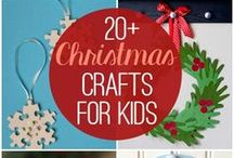 Christmas Crafts / Christmas crafts for all the family.  Fun and easy christmas crafts for children. Christmas Crafts to keep the kids amused!