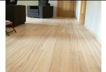 White ash Saarni lattia / ash flooring - white floor saarni  saarnilauta saarniparketti