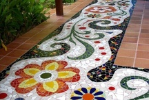 Mexican Design & Decor / Mexican interior #design ideas, landscaping and #Mexican #architecture. Ideas for #DIY, art and inspiration.