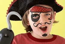 Pirate Party Ideas / A pirate treasure hunt - the ultimate party game for a pirate party - with ideas for pirate party games, pirate party food, pirate craft activities and more!