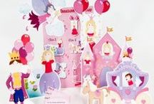 Princess Birthday Party Ideas / Great ideas for how to create a fabulous princess party with princess party games, princess party food, and princess craft activities!