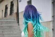 Haircut Long and Colorfull