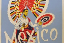 Vintage Travel / #Vintage and #Retro #Travel posters and ads for #Mexico destinations.